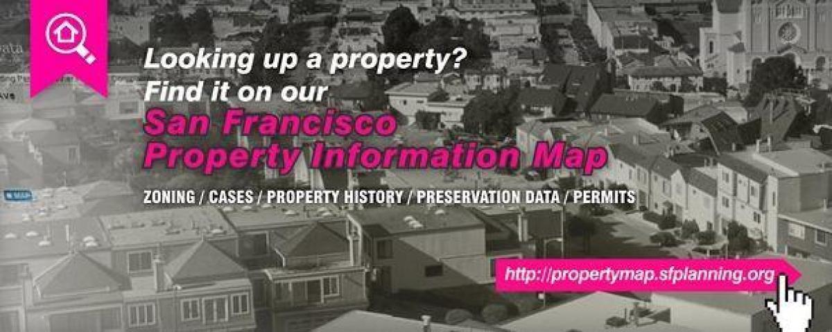 Sf Ejendom Information Kort San Francisco Ejendom Info Kort